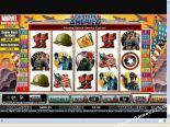 fruitautomaten gratis Captain America CryptoLogic